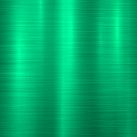 Green metal technology background with abstract polished, brushed texture, chrome, silver, steel, aluminum for design concepts, wallpapers, web, prints and posters. Vector illustration. Ilustrace