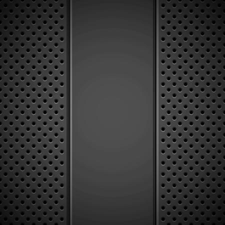 Speaker grill texture and bevels for design concepts Reklamní fotografie - 94015370