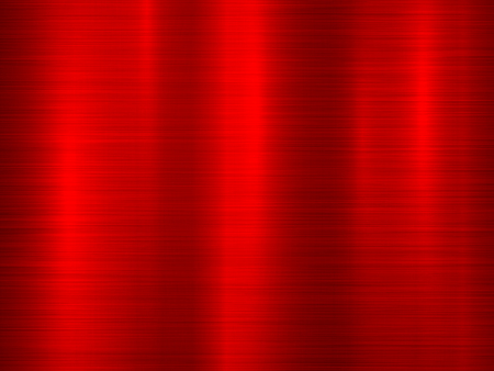 Red metal abstract technology background with polished, brushed texture, chrome, silver, steel for design concepts, wallpapers, web, and prints vector illustration.