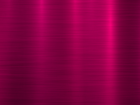 Magenta metal abstract technology background with polished, brushed texture, chrome, silver, steel, aluminum for design concepts, wallpapers, web, prints, posters, interfaces. Vector illustration.
