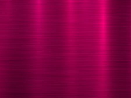 Magenta Metall abstrakte Technologie Hintergrund mit polierter, gebürsteter Textur, Chrom, Silber, Stahl, Aluminium für Designkonzepte, Tapeten, Web, Drucke, Poster, Schnittstellen. Vektorillustration.