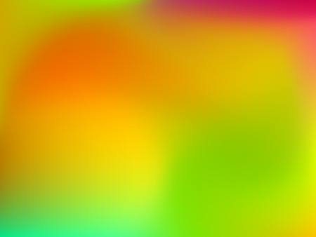 Abstract blur gradient horizontal background with red, orange, yellow and greb colors for deign concepts, wallpapers, web, presentations and prints. Vector illustration. Ilustrace