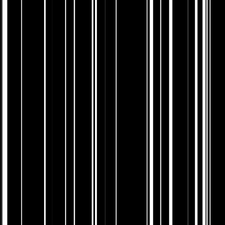 Seamless barcode abstract background with random black vertical lines for design concepts, posters, wallpapers, banners, web, presentations and prints. Vector illustration.