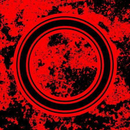 Red Abstract Background with Grunge Texture for design concepts, banners, posters, wallpapers, web, presentations and prints. Vector illustration.