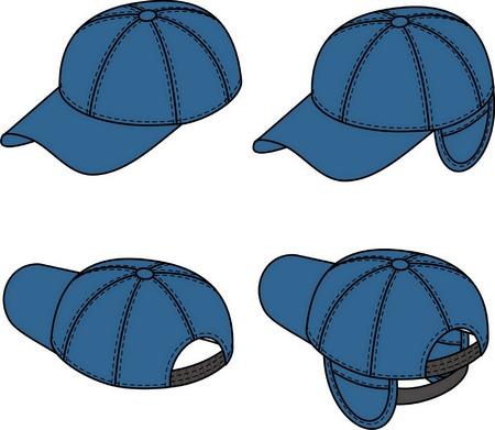 Baseball cap has turning away ears. Stock Vector - 5145103