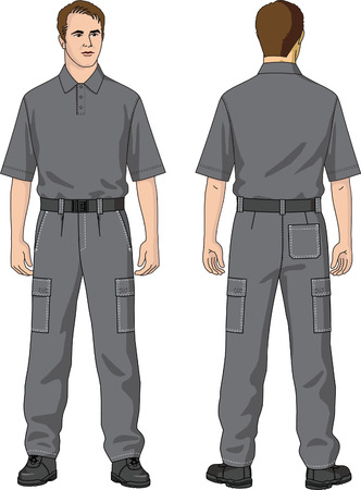 mans: Trousers mans summer with pockets.