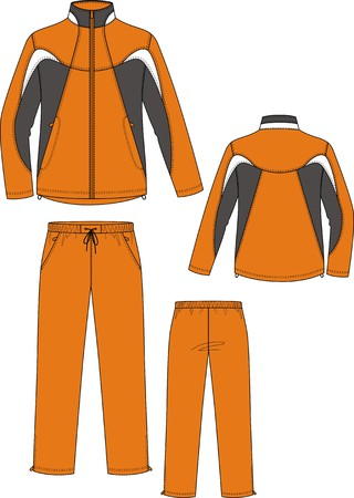 suit  cuff: Suit sports, consisting of a jacket and trousers
