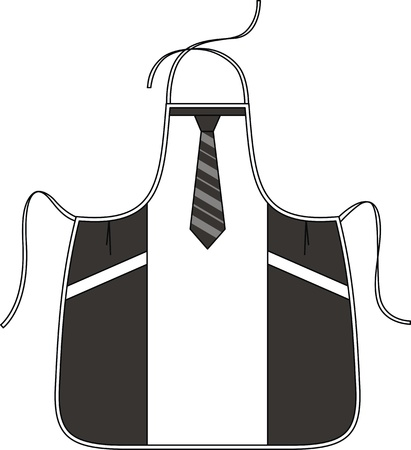 outset: Apron for the man with pockets and a tie