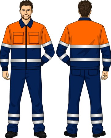 The suit summer for the working man consists of a jacket and trousers