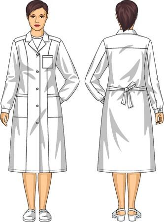 femme dressing: Peignoir pour la femme avec des poches et une ceinture