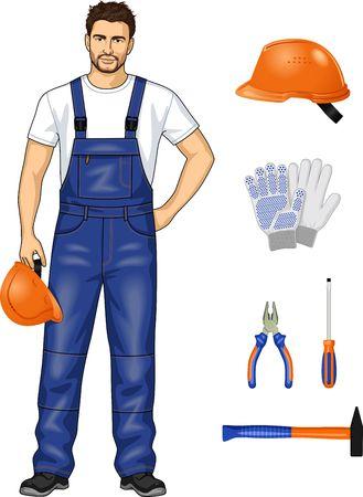근로자 복장 및 도구