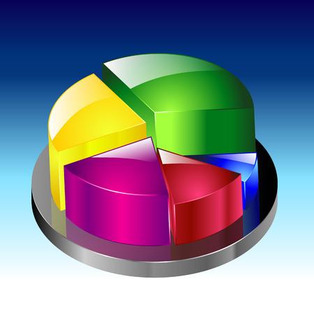 banking information: illustration of graph