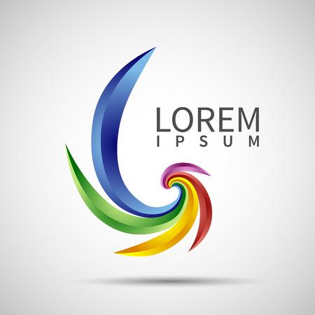 abstract element vorm vector design icoon linten