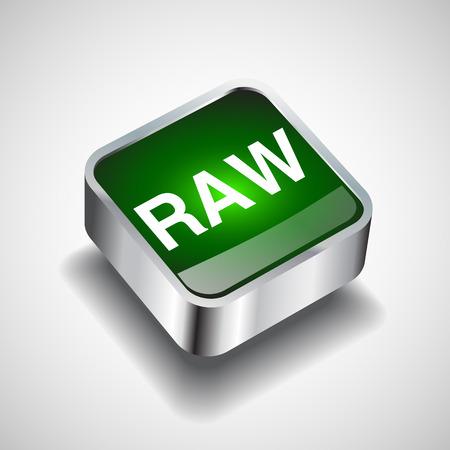 rindfleisch roh: Raw-Datei-Symbol Vektor-