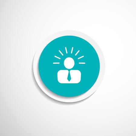 Symbol Vorschlag Idee Konzept Glühbirne person