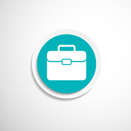 suitcase icon icon travel business sign symbol case Vector