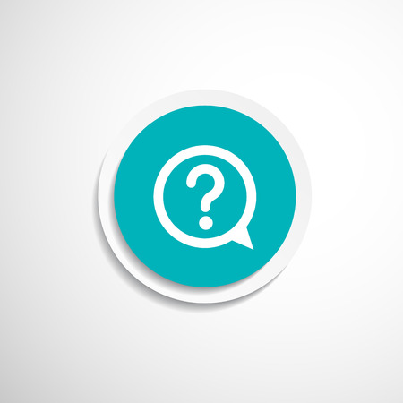 Image of question mark icon solution mark symbol business