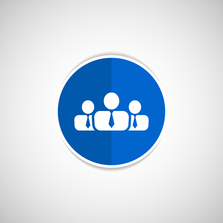 work related: people icon business communication relationships group business