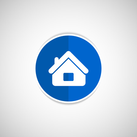 House icon home symbol vector element web Çizim