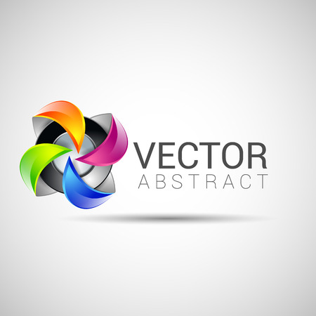 Abstract icon template set. Icons for any type of business