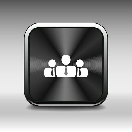 business communication: people icon business communication relationships group business