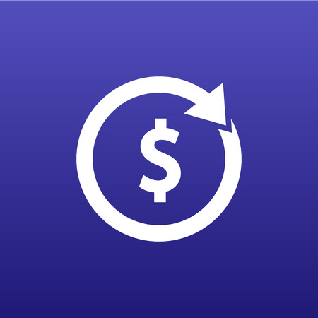 advancement: Arrow and money Vector version also available Illustration