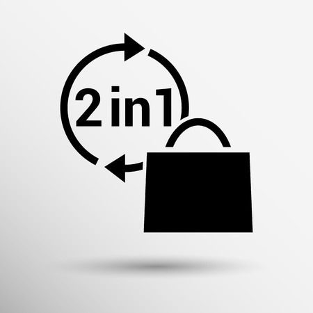numbers icon: Numbers set modern style. Vector illustration icon.