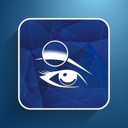 sehkraft: auge augenbraue menschlichen weiblichen Make-up Sch�nheit Augenlicht.