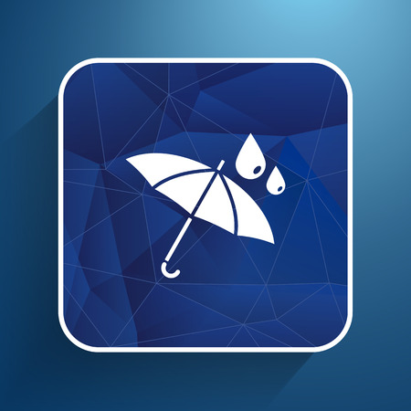 waterproof icon water proof symbol umbrella.