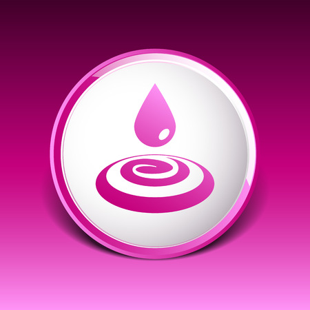 reflection of life: water drop rain droplet icon fluid clean design.