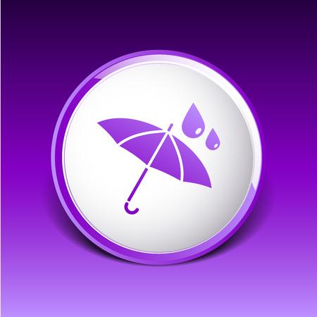 rainproof: waterproof icon water proof symbol umbrella.
