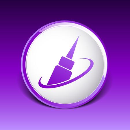 corrector: corrector eye icon eye icon fashion isolated sign symbol female. Illustration