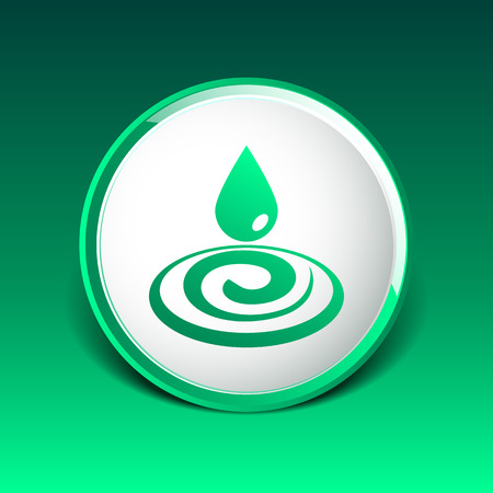 rain drop: water drop rain droplet icon fluid clean design.