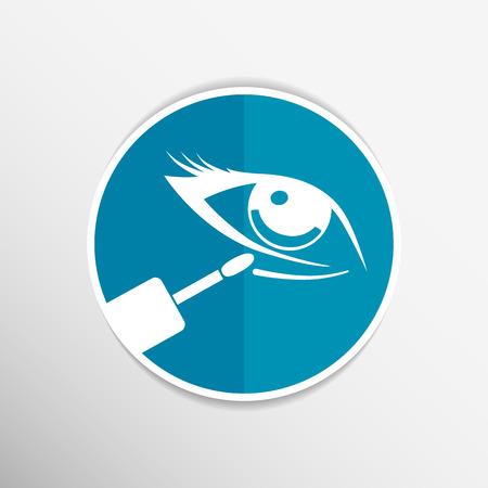 concealer: Foto del primo piano di un bastone correttore per nascondere le occhiaie o imperfezioni del viso, isolato su bianco. Vettoriali