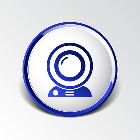 webcast: camera video icon web vector insight cam chat network.