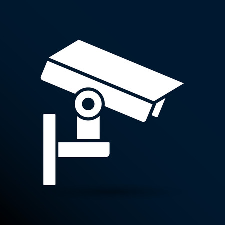 camera cctv icon sign graphic theft wireless street. Vector