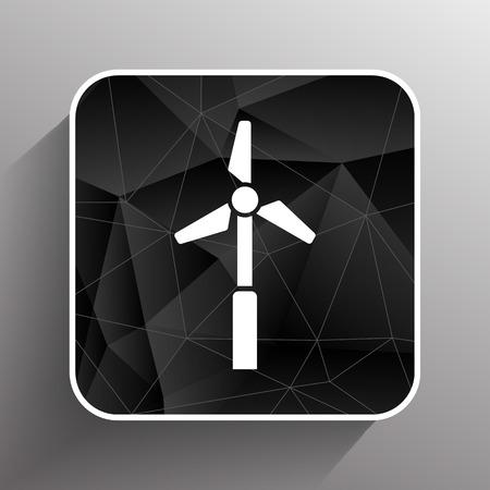 10eps: icon vector tower electric floor generator propeller.