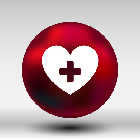 rate: Heart beat rate icon