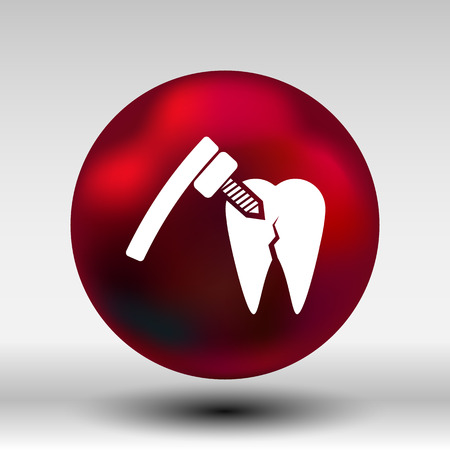 dental hygienist: dental treatment tool icon