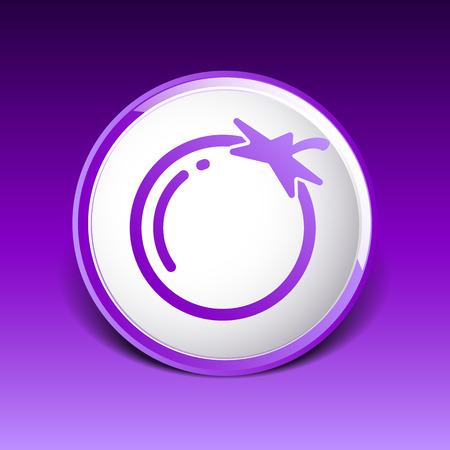 noticeable: Simple Tomato icon Illustration