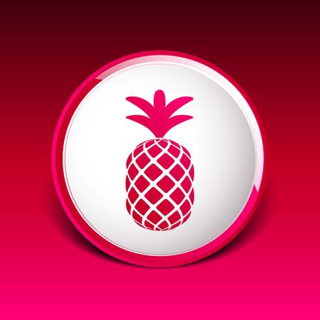 pine apple: Pineapple icon