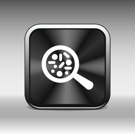 microorganisms: Vector icon Biochemistry microbiology Microorganisms lab Bacterias.