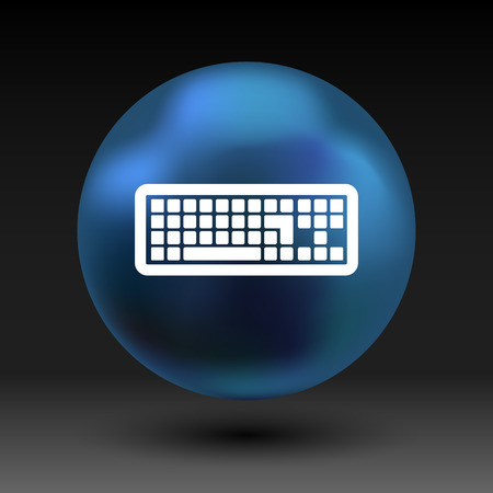 put: icon keyboard laptop input put key alphabet tool.