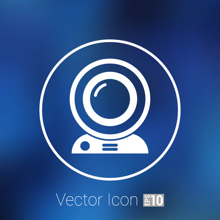 insight: camera video icon web vector insight cam chat network.