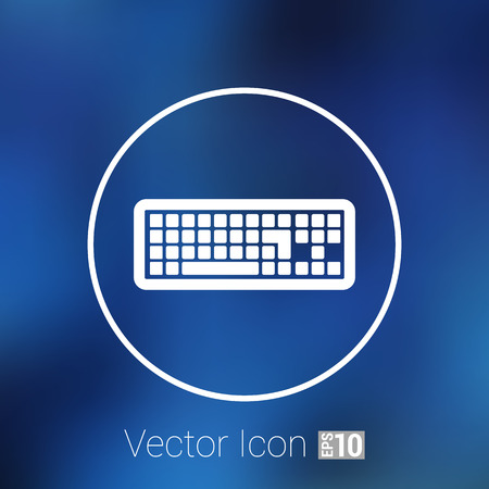 put: icon keyboard laptop input put key alphabet tool.