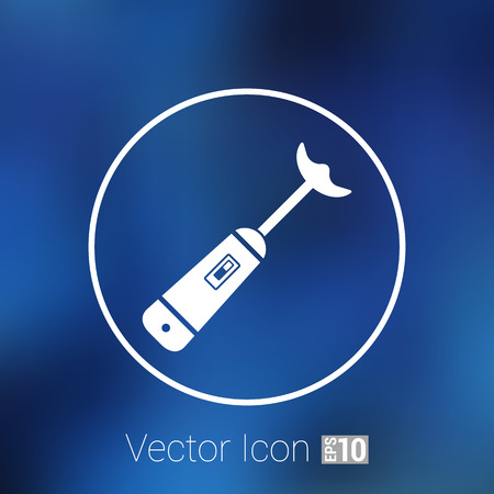electrical: blender icon vector mixer kitchen tool electrical.