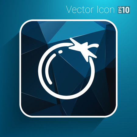 noticeable: Simple Tomato vector symbol icon useful for logo.