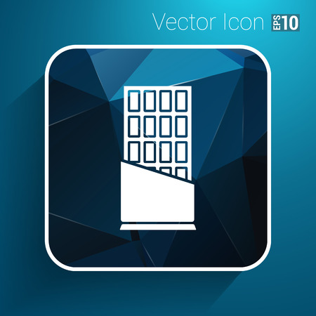 indulgence: Opened chocolate bar vector icon logo design.