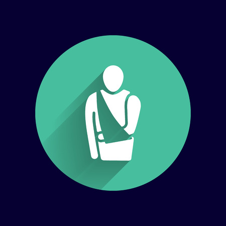 Medical Flat Icon Vector Pictogram.