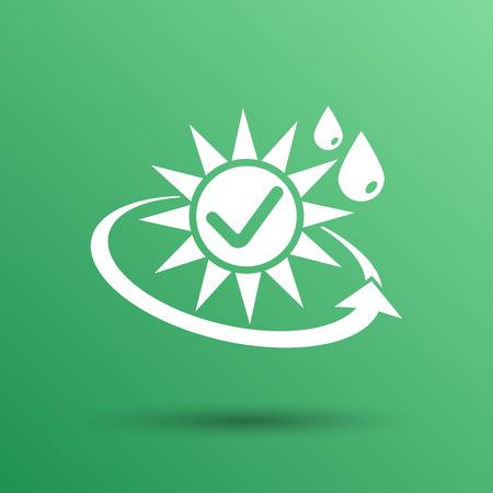 sun protection: aislado bloque de protecci�n solar vector piel icono de protector solar.